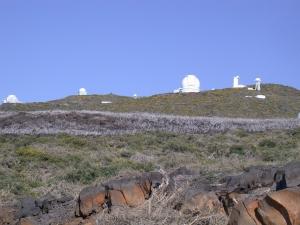 de telescopen van roque de los muchachos