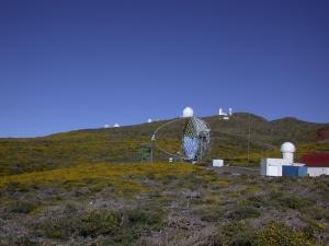 het observatorium op Roque de los Muchachos