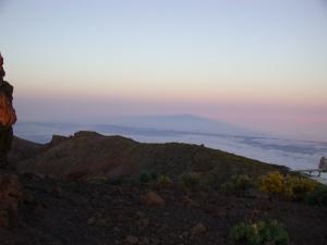 uitzicht op Tenerife