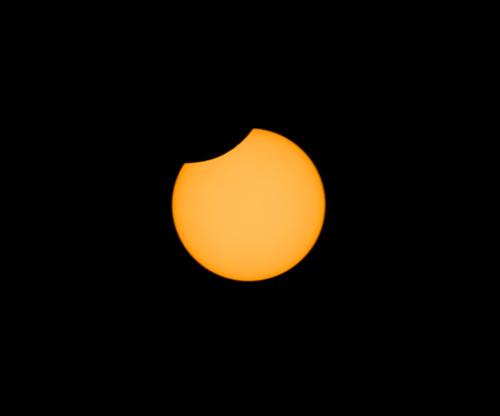 partiele zonsverduistering 2008